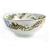 MacKenzie-Childs_Thistle_&_Bee_Serving_Bowl