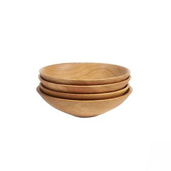 andrew pearce set of 4 cherry champlain bowls