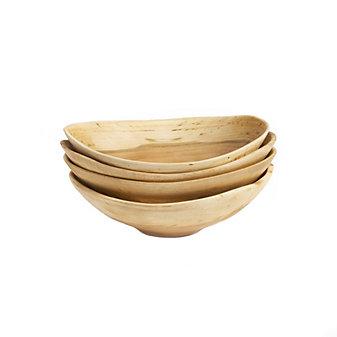 andrew pearce set of 4 live edge cherry bowls