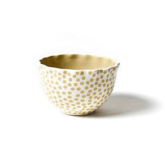 coton colors cobble small dot ruffle small bowl