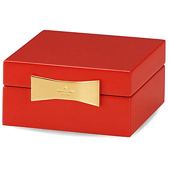 Kate Spade Garden Drive Red Jewelry Box