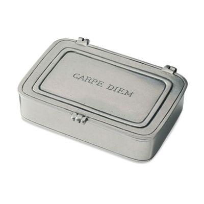 Match Pewter Carpe Diem Small Box