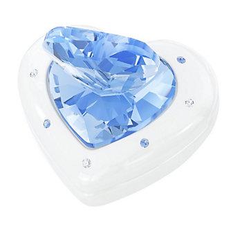 Swarovski Blue Heart Box