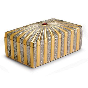 L'Objet Voyage d'Or Rectangular Box