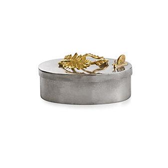 Michael Aram Enchanted Garden Oval Trinket Box