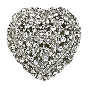 OLIVIA WINDSOR CRYSTAL HEART BOX