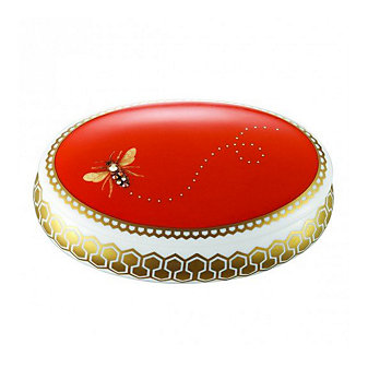 prouna honey bee oval jewelry box