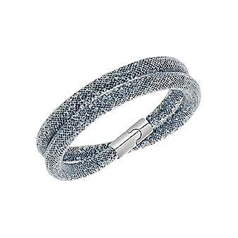 Swarovski Stardust Dark Gray Double Bracelet