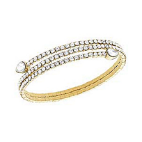 Swarovski_Twisty_Yellow_Bangle