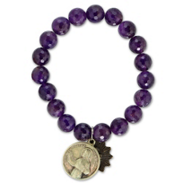 Miracle_Icons_Faceted_Amethyst_Bead_Bracelet