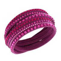 Swarovski_Slake_Fuchsia_Deluxe_Bracelet