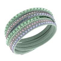 Swarovski_Slake_Light_Green_Deluxe_Bracelet