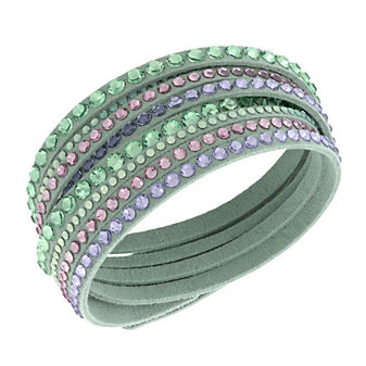 Swarovski Slake Light Green Deluxe Bracelet