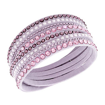 Swarovski Slake Pink Deluxe Bracelet