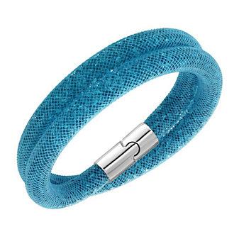 Swarovski Stardust Sky Blue Small Double Bracelet