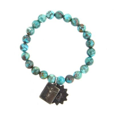 Miracle Icons Small Chinese Turquoise Bracelet