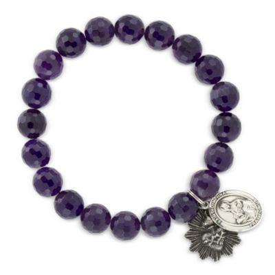 Miracle Icons Amethyst Bracelet