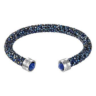 Swarovski Crystaldust Blue Cuff Bracelet
