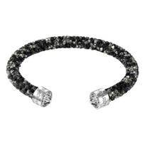 Swarovski_Rolled_Rocks_Dark_Crystaldust_Cuff_Bracelet,_Medium