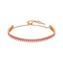 Swarovski_Rose-Gold_Plated_Subtle_Bracelet,_Medium