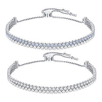 Swarovski Subtle Bracelet Set