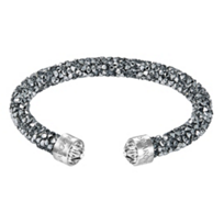 Swarovski_Rolled_Rocks_Crystaldust_Cuff_Bracelet,_Chrome