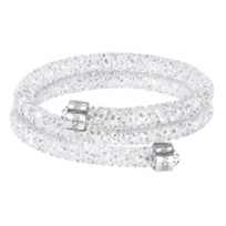 Swarovski_Rolled_Rocks_Crystaldust_Bangle,_Small