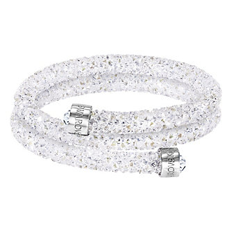 Swarovski Rolled Rocks Crystaldust Bangle, Small