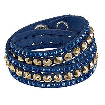 Swarovski Slake Dark Blue Dot Bracelet