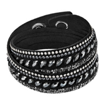 Swarovski_Slake_Black_Pulse_Bracelet,_Medium