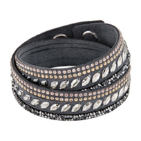 Swarovski_Slake_Gray_Pulse_Bracelet,_Medium