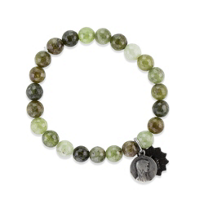 Miracle_Icons_Olive_Green_Garnet_Bracelet