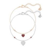 Swarovski_Crystal_Wishes_Heart_Bracelet_Set