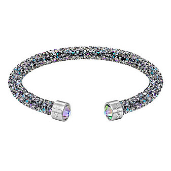 Swarovski Crystaldust Cuff, Purple
