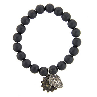 Miracle Icons Matte Onyx Bracelet