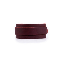 RUSTICO_BUCKLE_LEATHER_WRISTBAND_-_BURGUNDY