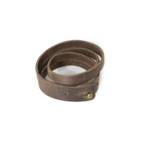 RUSTICO_SPLIT_LEATHER_WRISTBAND_-_DARK_BROWN