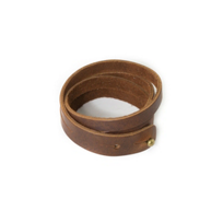 RUSTICO_SPLIT_LEATHER_WRISTBAND_-_SADDLE