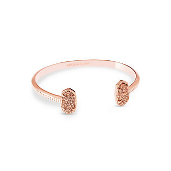 Kendra Scott Elton Rose Gold Drusy Bracelet