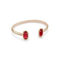 kendra_scott_elton_clear_berry_glass_gem_brass_pinch_bracelet_____________________