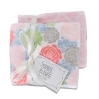 Swankie_Blankie_Rose_Bloom_&_Pink_Lattice_Burp_Cloth_Set