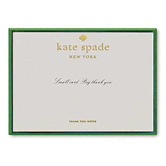 Kate Spade Small Card Big Thank You Card Set