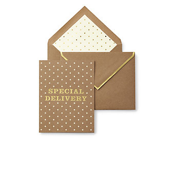Kate Spade New York Greeting Card - Special Delivery