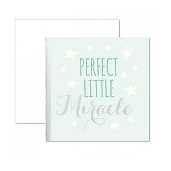 C.R. GIBSON PERFECT LITTLE MIRACLE GIFT ENCLOSURE CARD