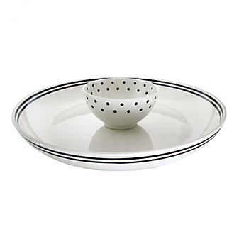Kate Spade Raise A Glass Chip And Dip Bowl