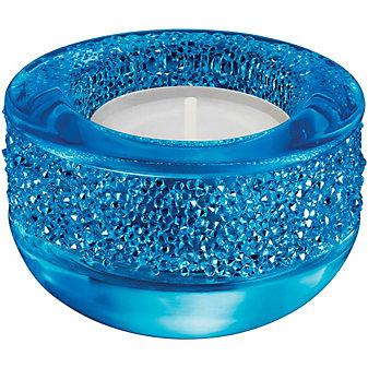 Swarovski Shimmer Tea Light, Capri Blue