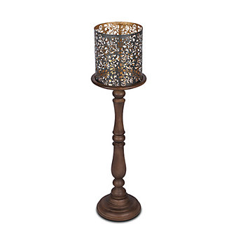 GG Collection Medallion Candleholder 35""
