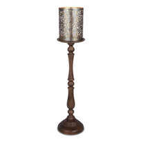 "GG_Collection_Medallion_Candleholder_50""_"