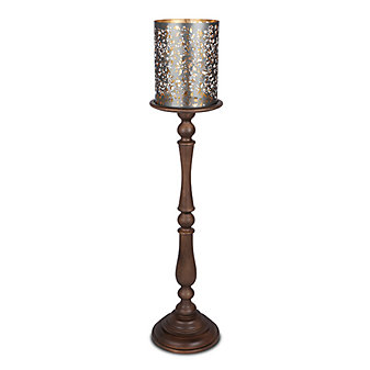 GG Collection Medallion Candleholder 50""