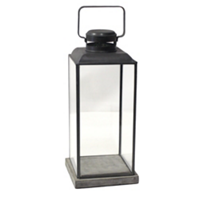 HomArt_Risa_Lantern_with_Concrete_Base